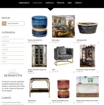 Sandra Marcos estrena tienda online