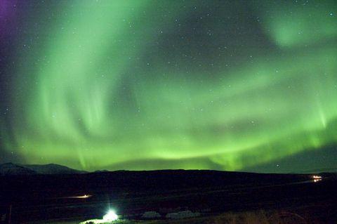 Fotografia Aurora Boreal en Islandia