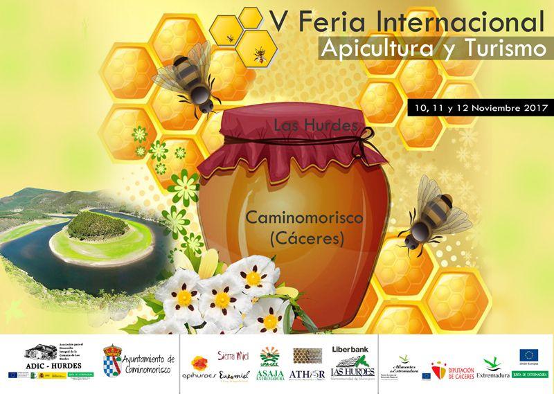 Foto de Cartel V Feria Internacional de Apicultura y Turismo de Las