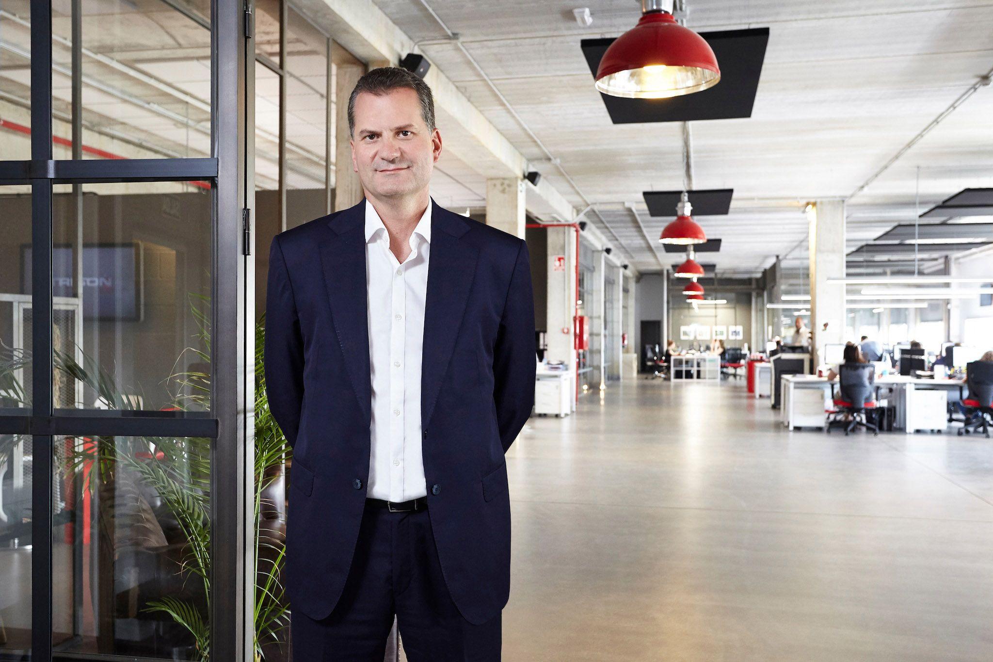 Foto de Alberto Cáceres, CEO de TRISON WORLDWIDE
