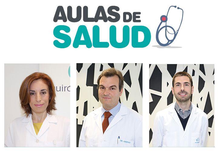 Foto de La endocrinóloga, Teresa Serrano, y los especialistas del