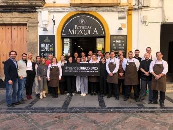 Bodegas Mezquita donará esta Navidad mil menús solidarios a los comedores sociales de Córdoba