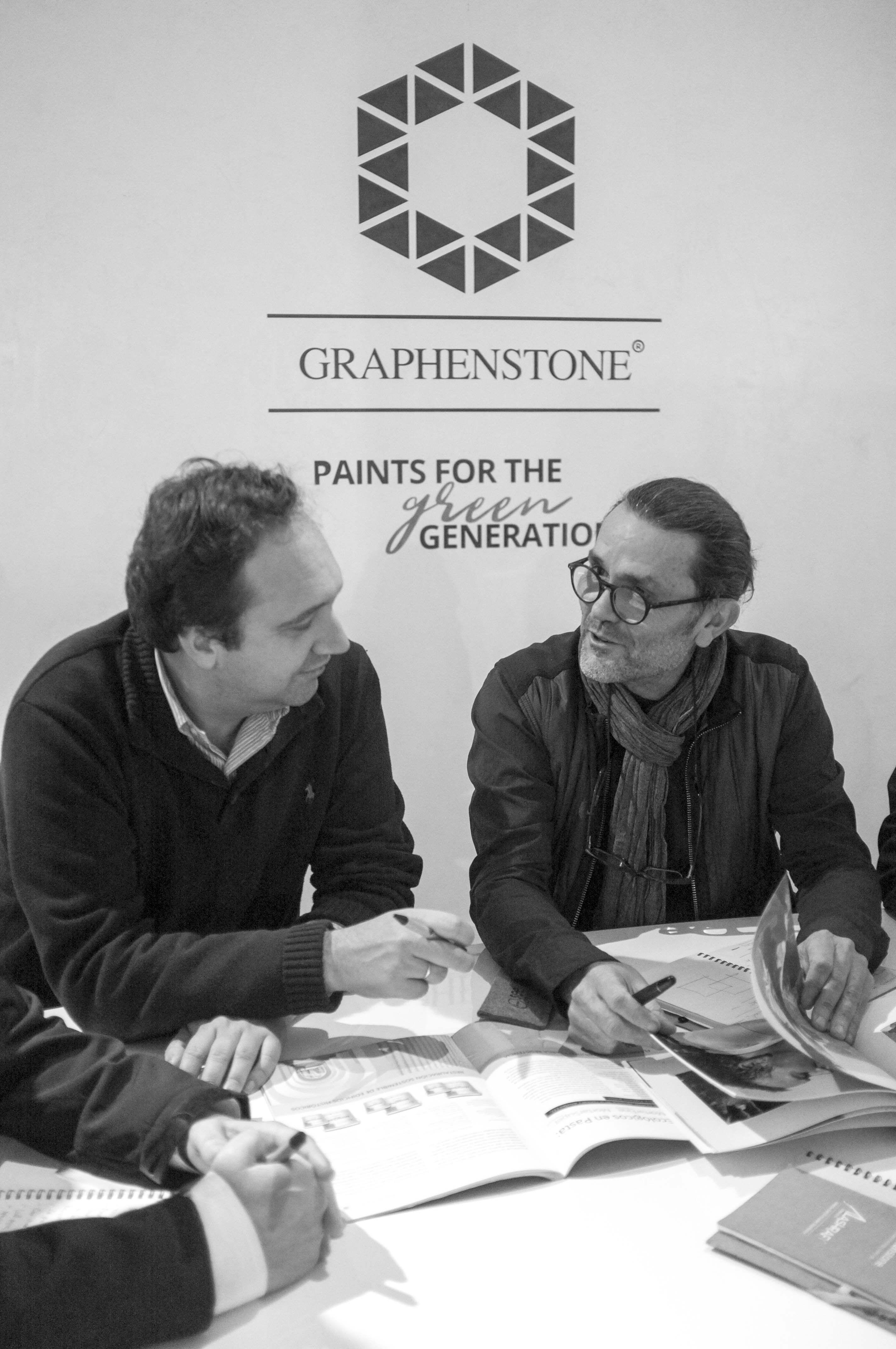 Foto de Joan Lao, nuevo director artístico de Graphenstone