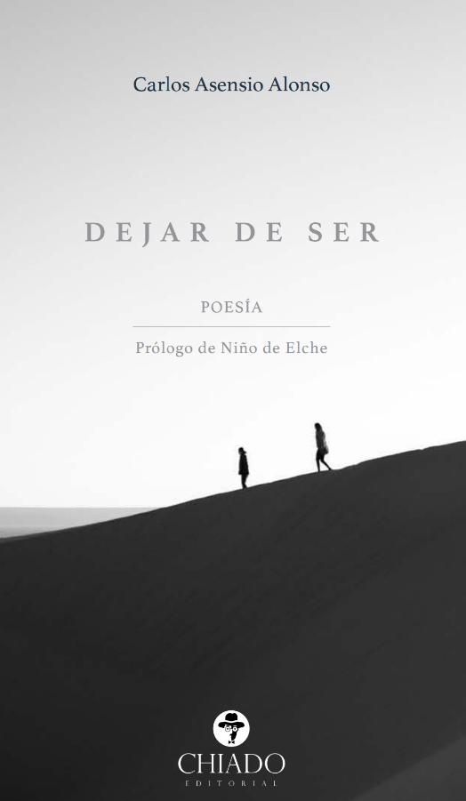 Foto de Dejar de ser, el poemario de Carlos Asensio