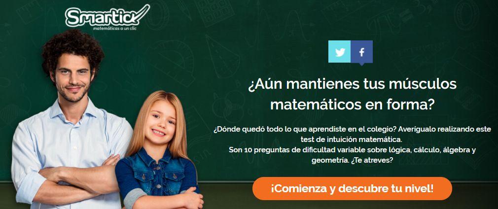 Foto de Test matemático Smartick