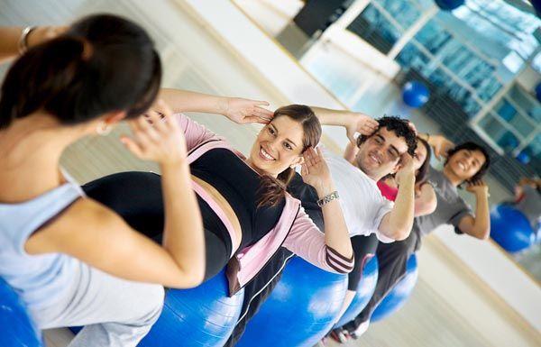 Foto de curso de pilates