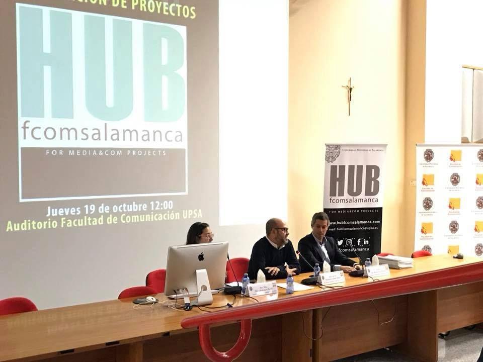 Foto de Presentación del HUB empresarial de la Universidad