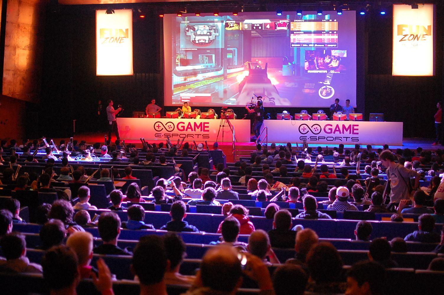 Foto de Competiciones de eSports en Fun & Serious Game Festival