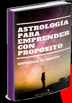 Portada libro Astrología para emprender con propósito