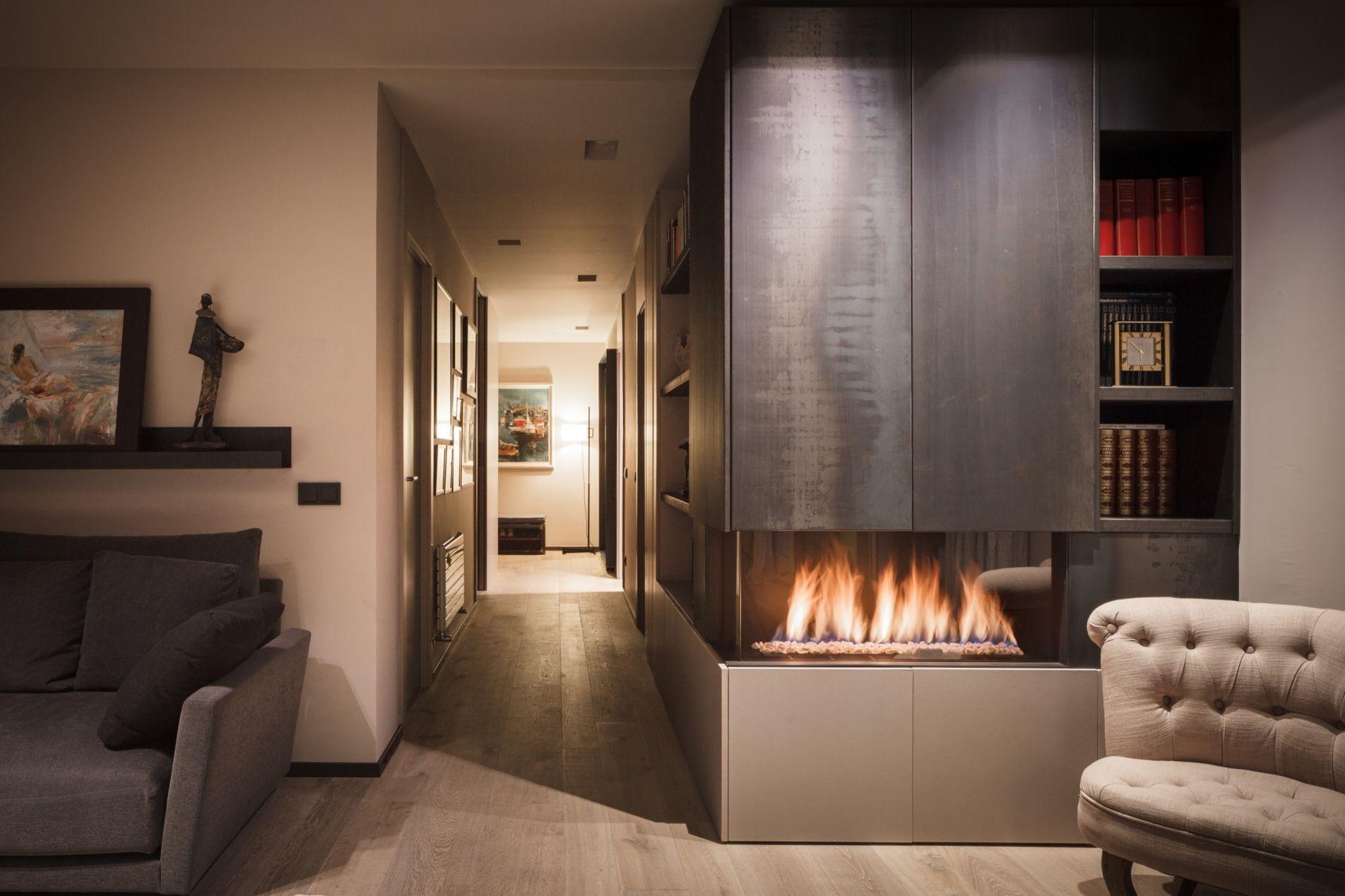 La chimenea de gas decoraci n y funcionalidad en un mismo - Chimeneas barcelona ...
