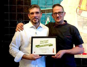 El restaurante La Plaça, ganador de la mejor tapa popular de la ruta 'Sant Cugat va de tapes'