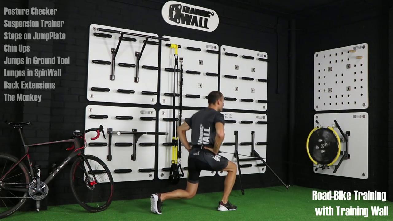Training Wall presenta su entrenamiento funcional para ciclistas