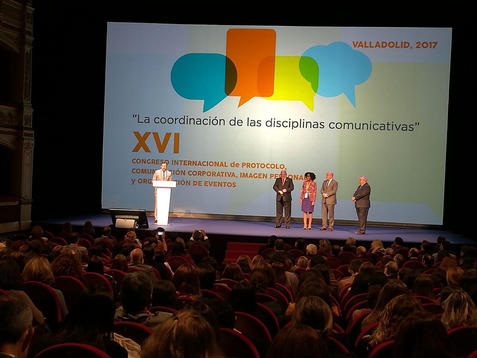 Foto de Inauguración XVI Congreso Internacional de Protocolo