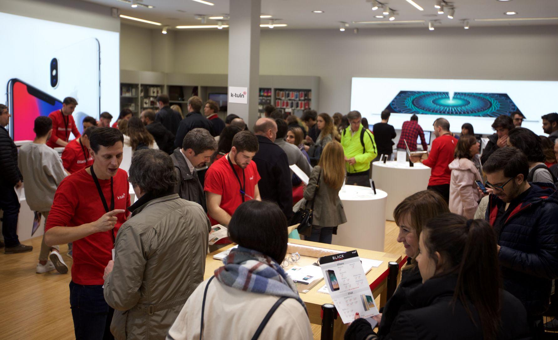 Black Friday: los fans de Apple vuelven a confiar en K-tuin