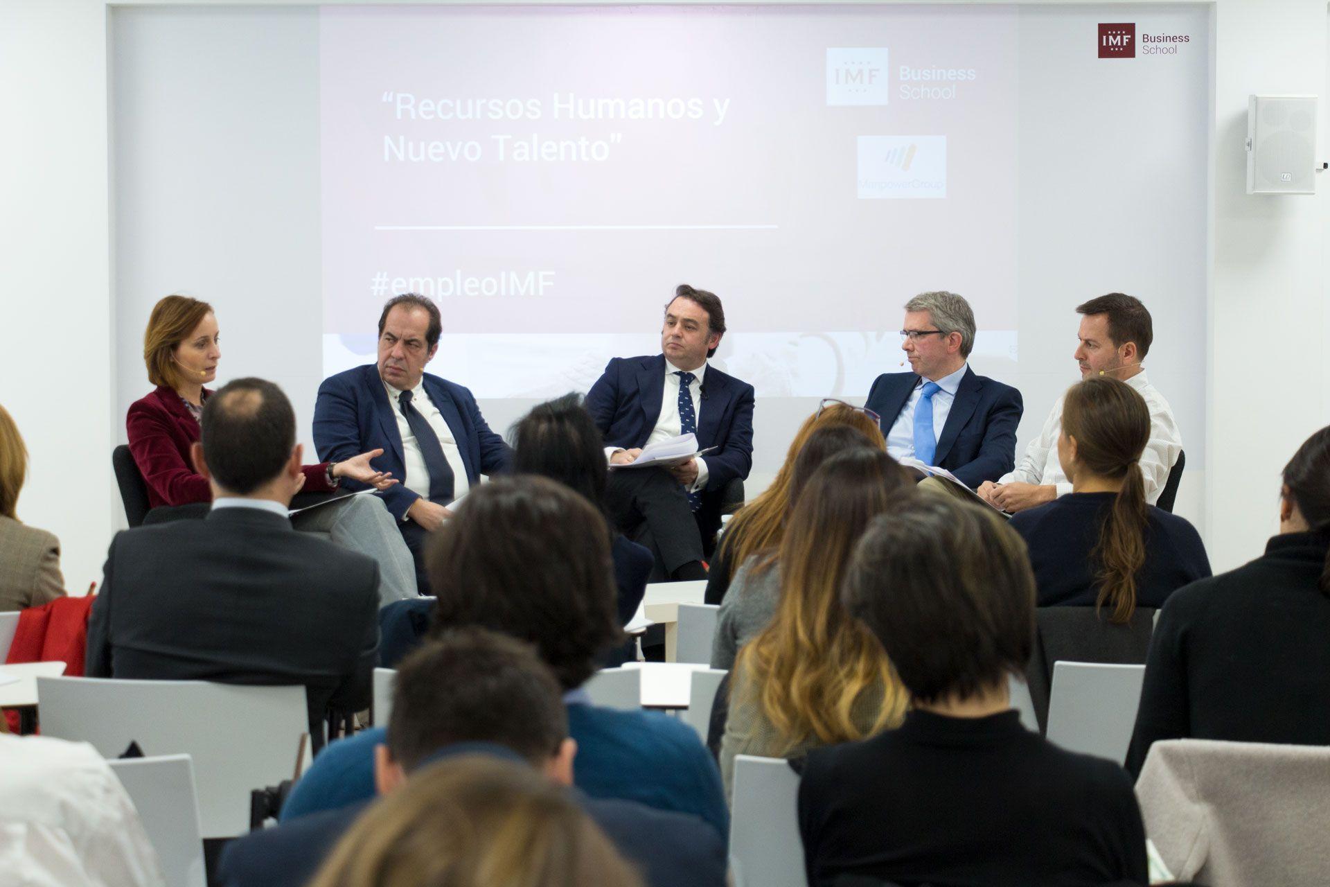 Foto de Mesa redonda IMF Business School_'El talento necesario para