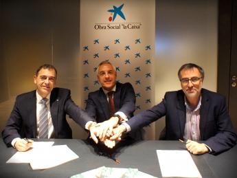 Foto de Firma de Convenio Negobide / La Caixa / YMCA