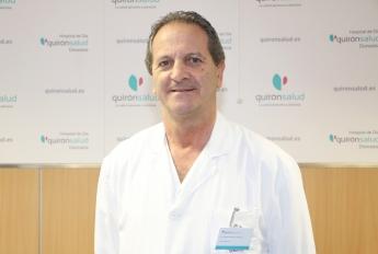 Mateo Sampedro, jefe del Servicio de Urgencias del Hospital de Día Quirónsalud Donostia.