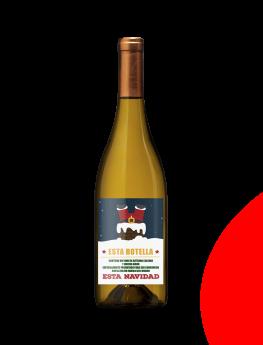 Foto de Vino blanco personalizado Navidad -Etiqueta tu Vino
