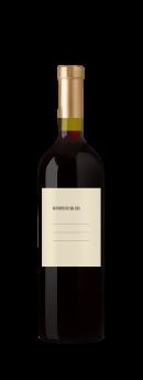 Foto de Vino personalizado diseñado para brindar por los objetivos