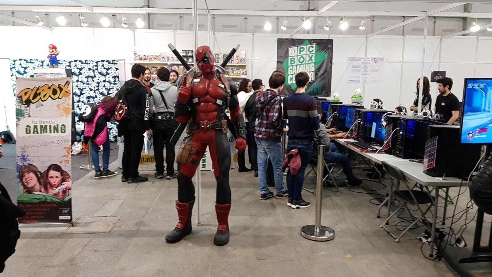 Foto de Arena de gaming en el Festival Manga de Getxo 2017