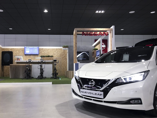 Fotografia Nissan LEAF 100% eléctrico