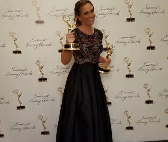 Natalia Denegri acumula tres Emmy Awards