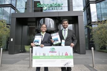 Estudiantes de todo el mundo se reúnen con Schneider Electric para compartir su visión y valores