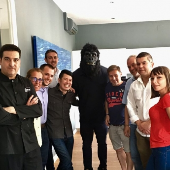 Gorak, el gorila foodie influencer