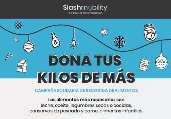 SlashMobility cumple 7 años, cambia su marca y lo celebra con una campaña benéfica