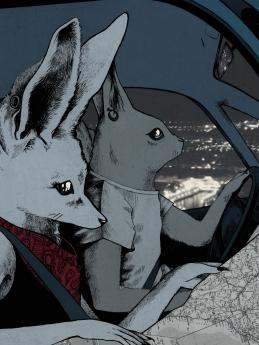 Ilustración realizada por el alumno Lee Miller, de IED Madrid