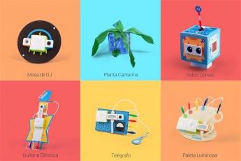 Foto de 10 proyectos para montar y jugar en un mismo kit