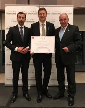 AEDEEC otorga a OVB Allfinanz España la Medalla de Oro Europea al Mérito en el Trabajo