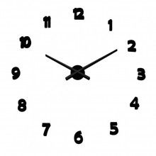 Foto de Reloj Adhesivo Pared