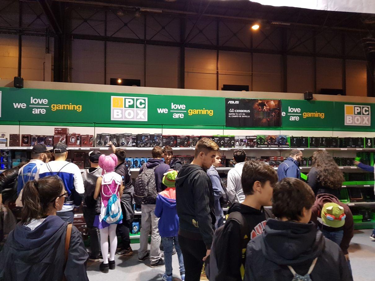 Foto de PCBox en Gamergy
