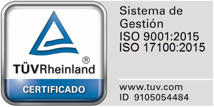 ISO 9001:2015 - ISO 17100:2015