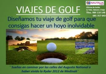 Nautalia Avilés diseña viajes de golf para hacer un hoyo inolvidable
