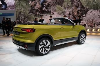 Foto de T-Cross, el todocamino más pequeño de la marca Volkswagen