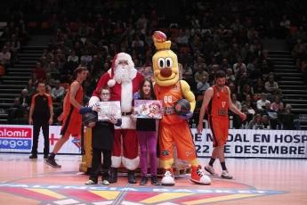 Foto de Valencia Basket y Falomir