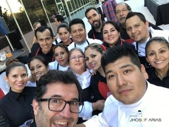 Foto de El Grupo Jhosef en los premios del diario de la Razón 2017