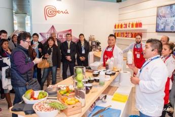 Foto de Chef Jhosef Arias en Madrid Fusión 2017