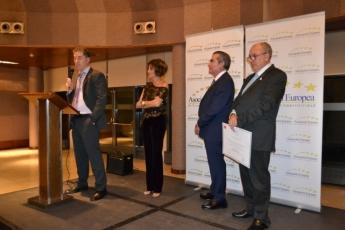 AEDEEC impone su `Medalla Europea al Mérito en el Trabajo' a Jose Espasandín, dueño de Montes de Galicia