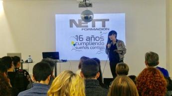 Nett Formación cumple 16 años y amplía sus instalaciones de Zaragoza