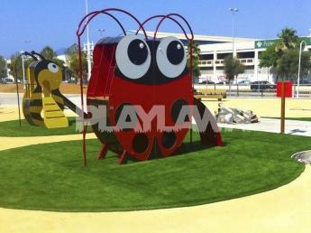 Foto de Césped artificial parques infantiles Playlawn