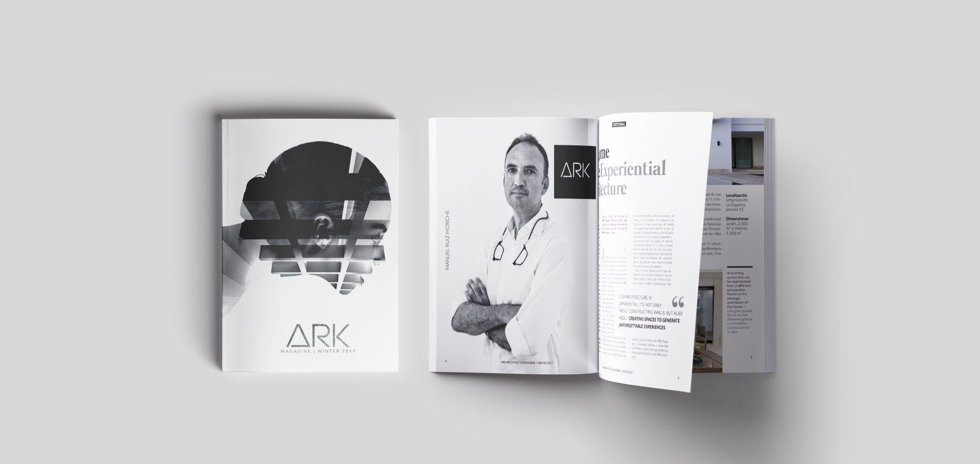 Nace ark magazine una gran revista para los amantes del for Estudio de arquitectura en ingles