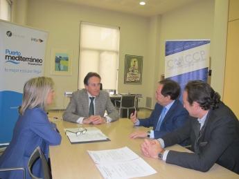 El Colegio de Ingenieros de Caminos y Puerto Mediterráneo firman un convenio de colaboración en materia de asesoramiento y empleo