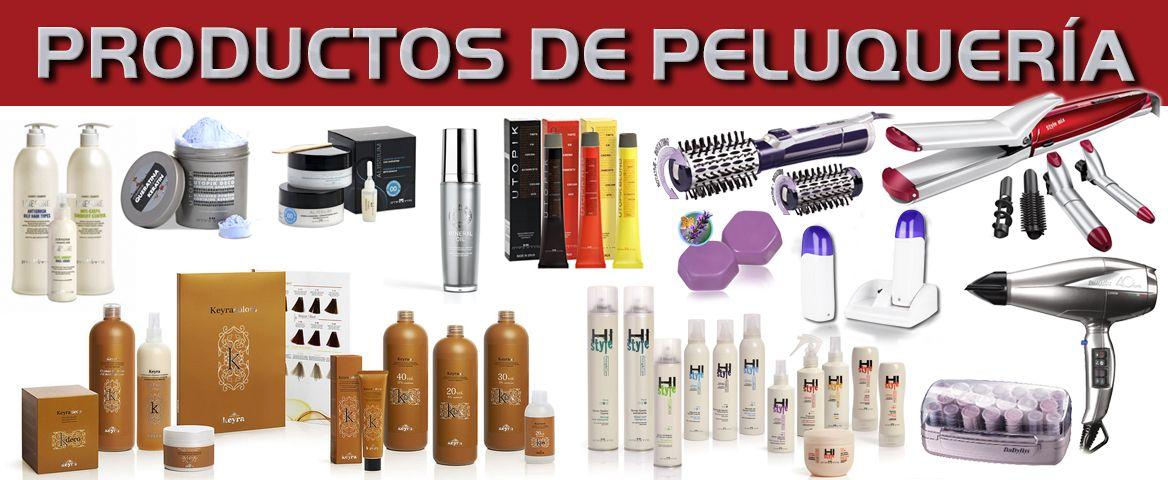 Foto de productos de peluqueria