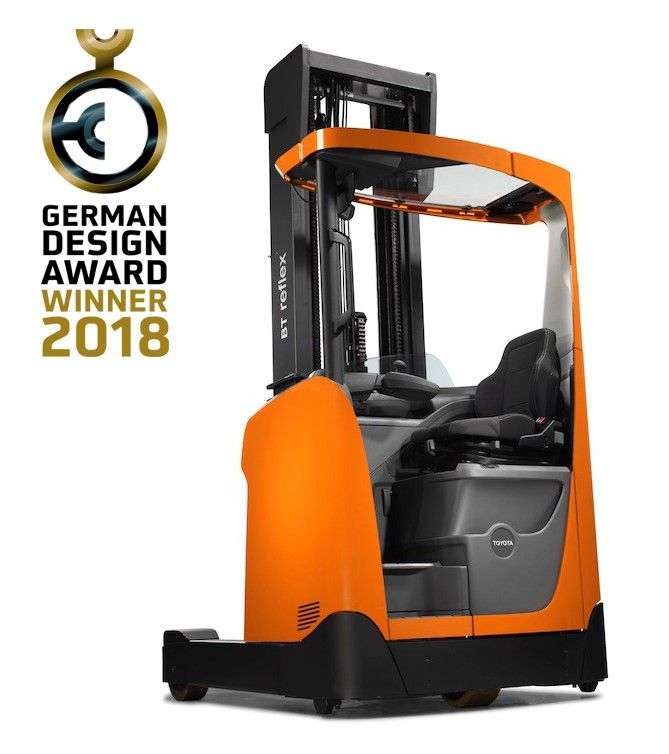 Los IFDESIGN 2017 premiaron a Toyota Material Handling