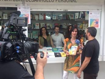 Foto de Haz lo que temas, presentación en la Feria del Libro De