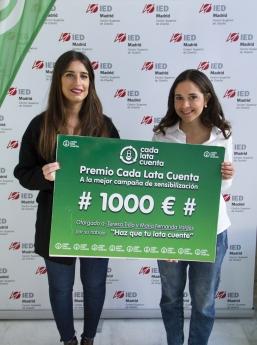 Un programa europeo de sensibilización medioambiental premia el trabajo de dos alumnas de IED Madrid