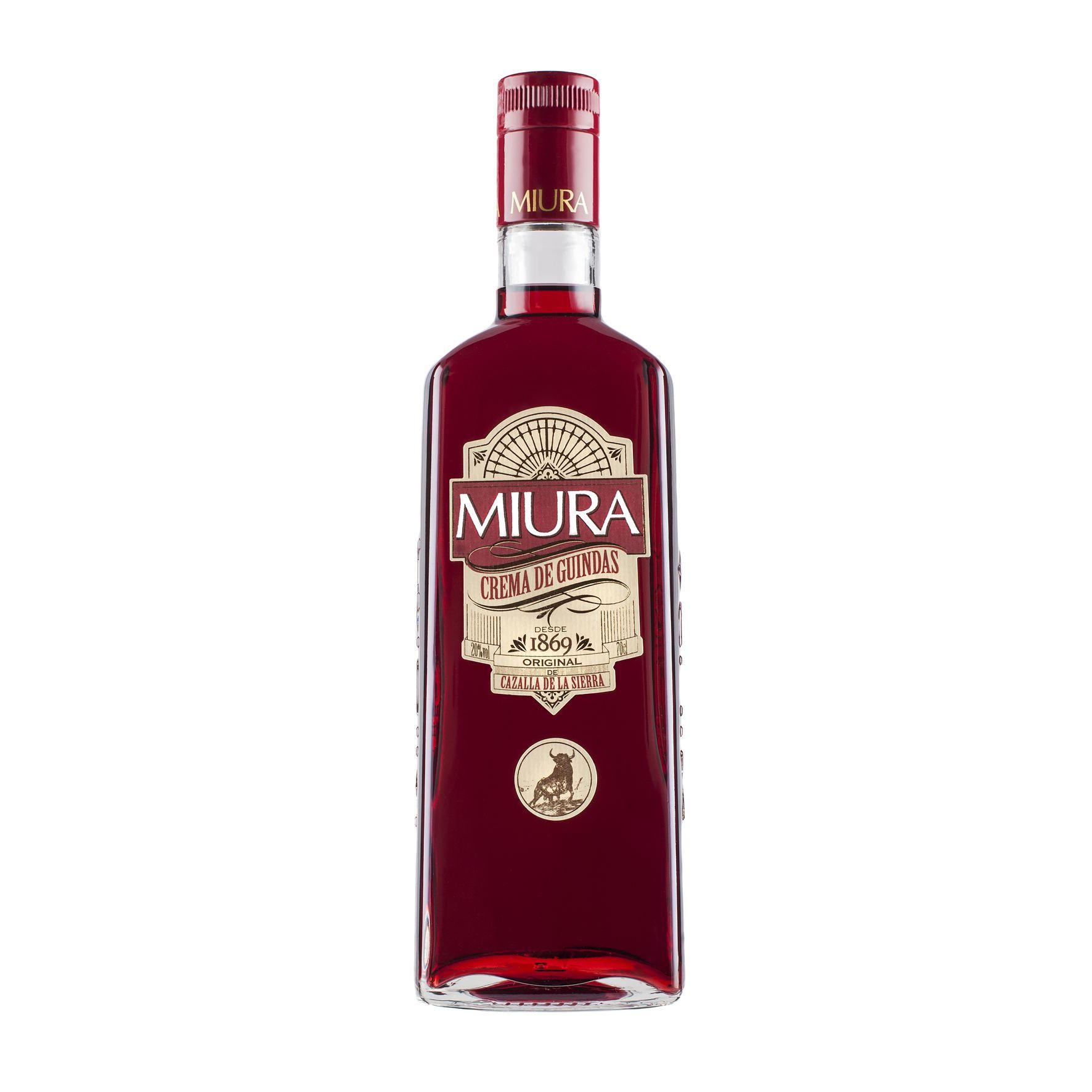 Miura, el licor por excelencia de Cazalla de la Sierra, cambia de imagen